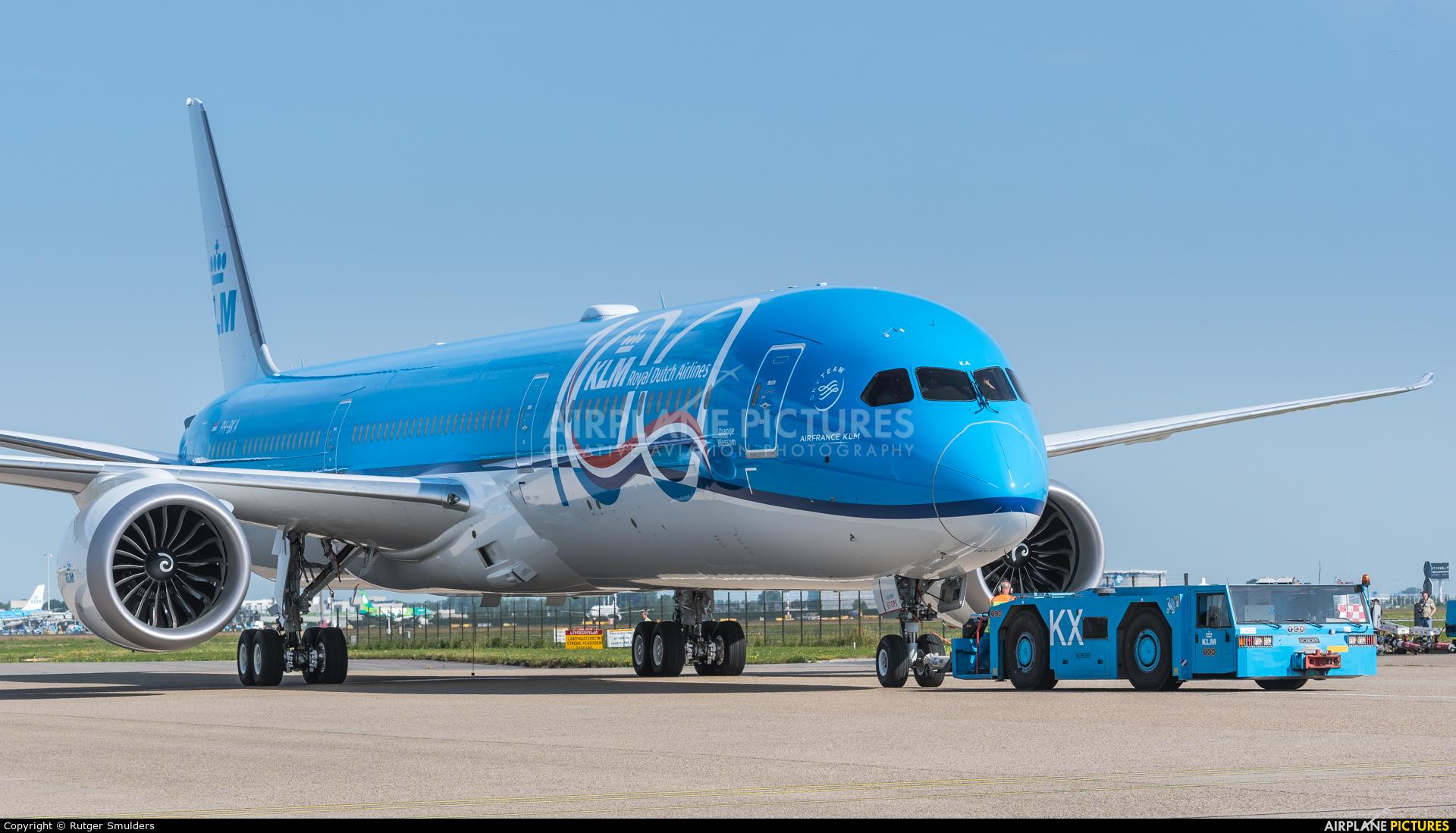 KLM PH-BKA aircraft at Amsterdam - Schiphol