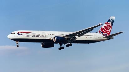 G-BNWE - British Airways Boeing 767-300ER