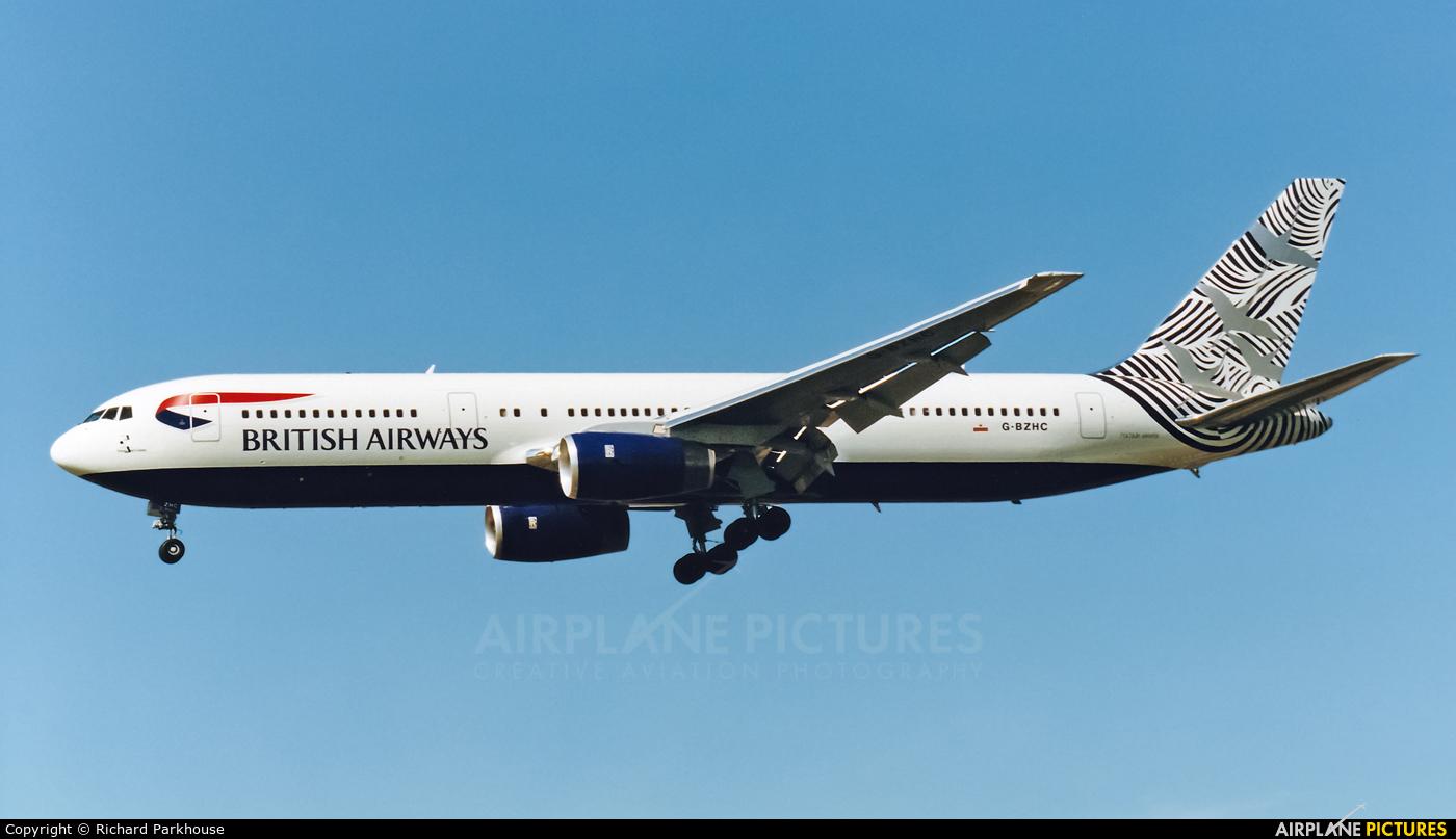 British Airways G-BZHC aircraft at London - Heathrow
