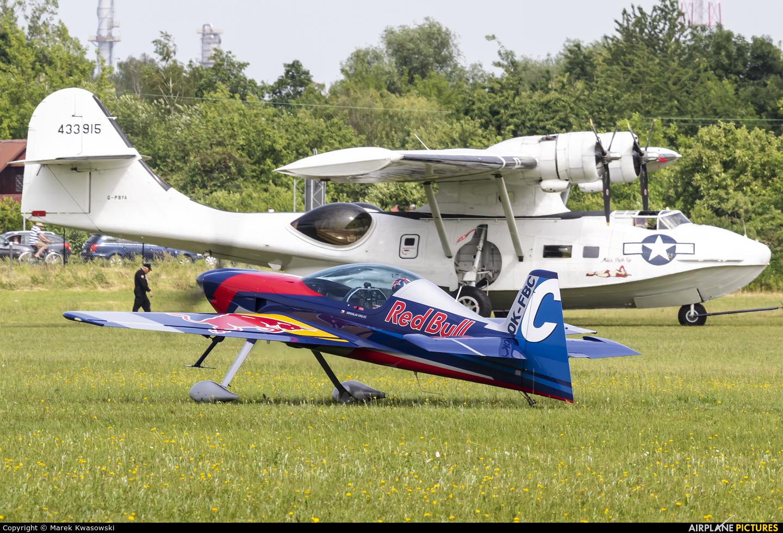 The Flying Bulls : Aerobatics Team OK-FBC aircraft at Płock