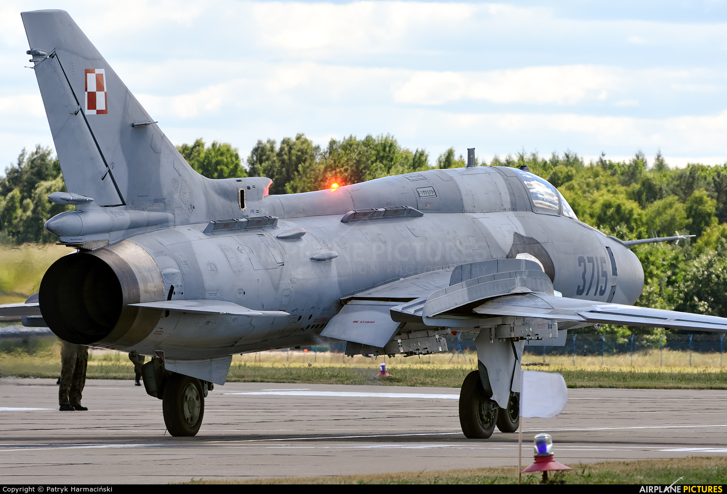 Poland - Air Force 3715 aircraft at Świdwin