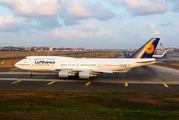 D-ABVS - Lufthansa Boeing 747-400 aircraft