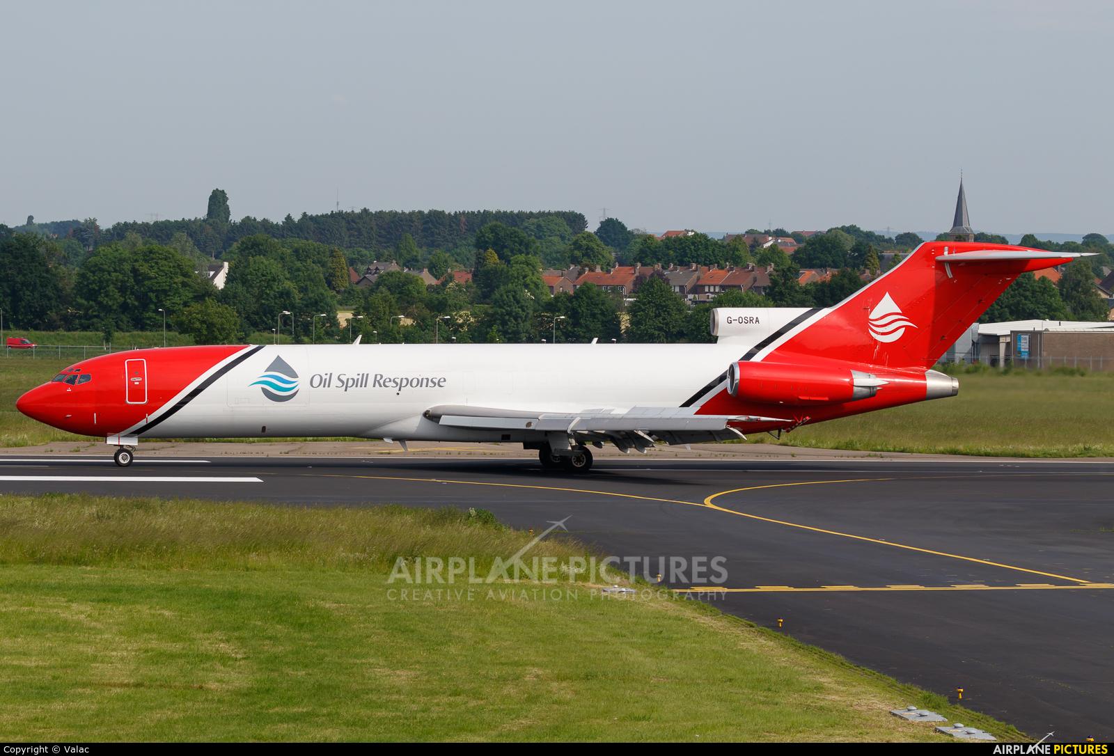 T2 Aviation G-OSRA aircraft at Maastricht - Aachen