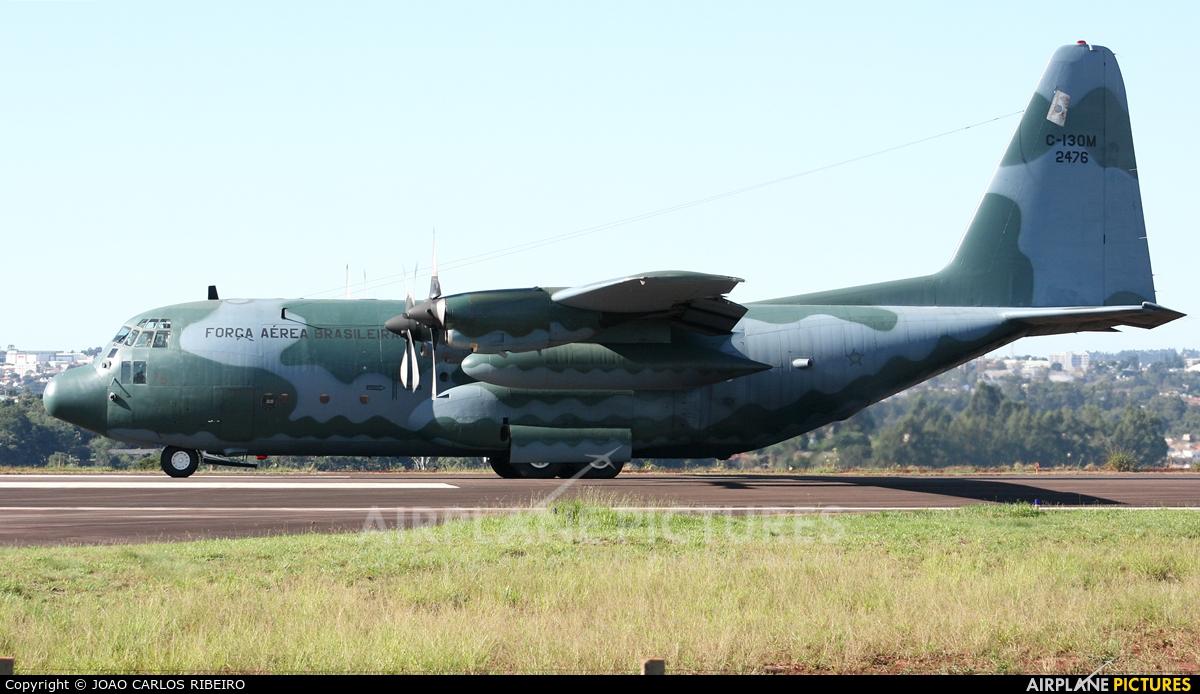 Brazil - Air Force FAB2476 aircraft at Municipal Airport Cascavel
