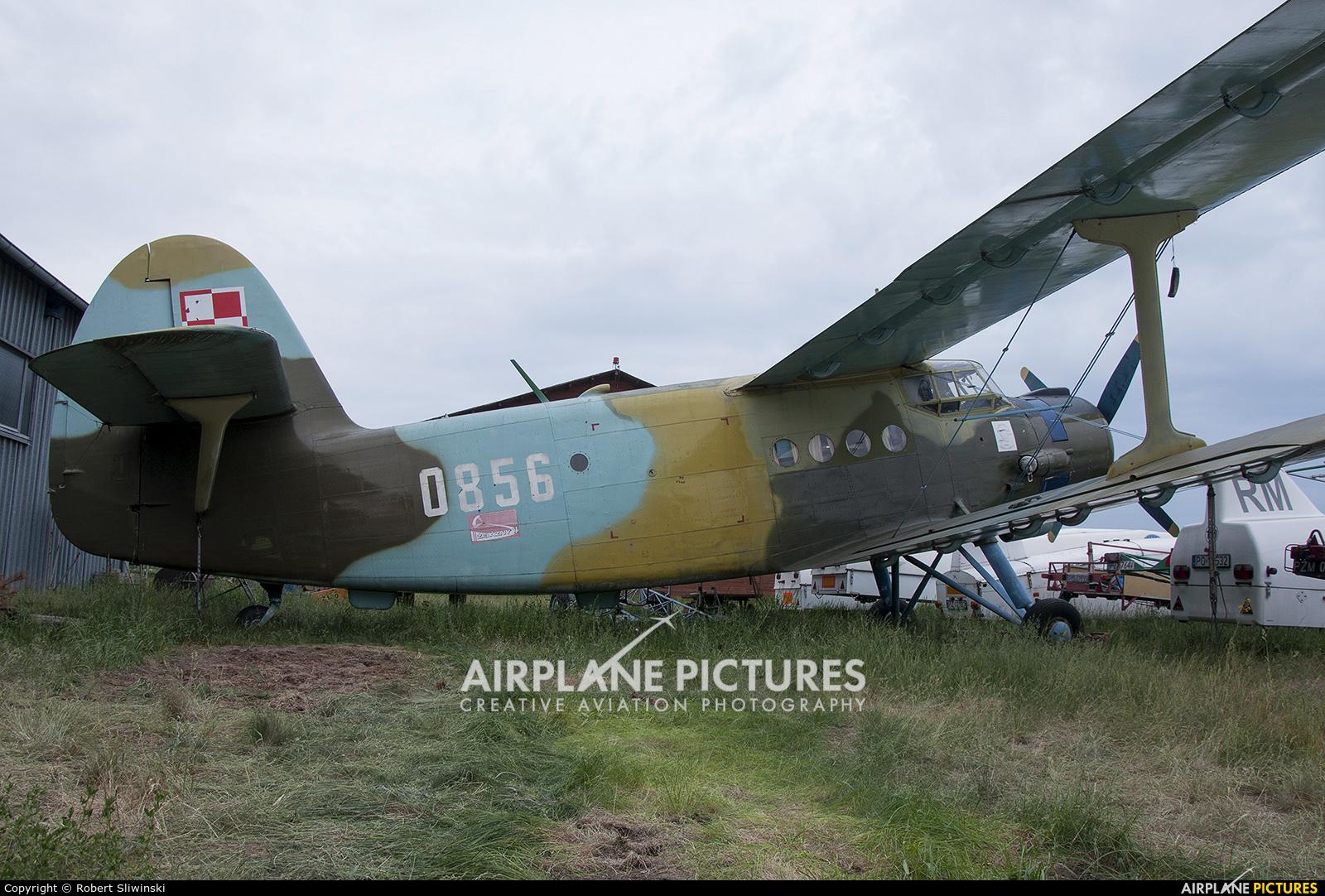 Poland - Air Force 0856 aircraft at Poznań - Kobylnica