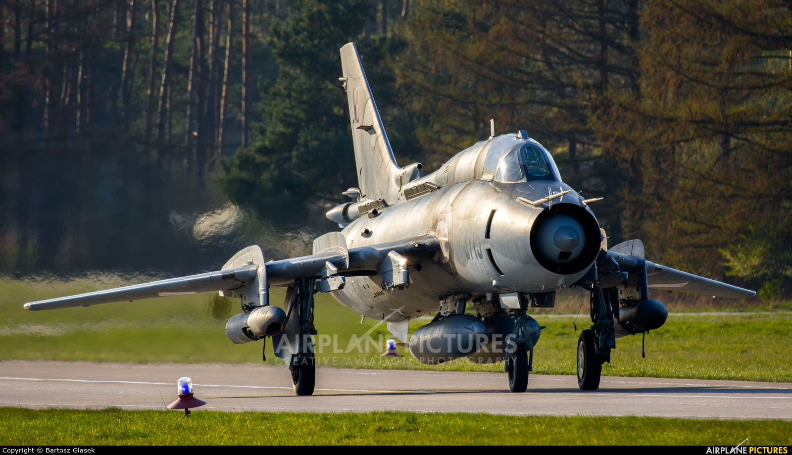 Poland - Air Force 3715 aircraft at Świdwin