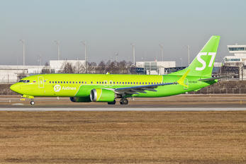 VQ-BGV - S7 Airlines Boeing 737-8 MAX