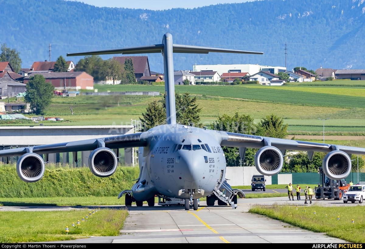 USA - Air Force 09-9206 aircraft at Payerne