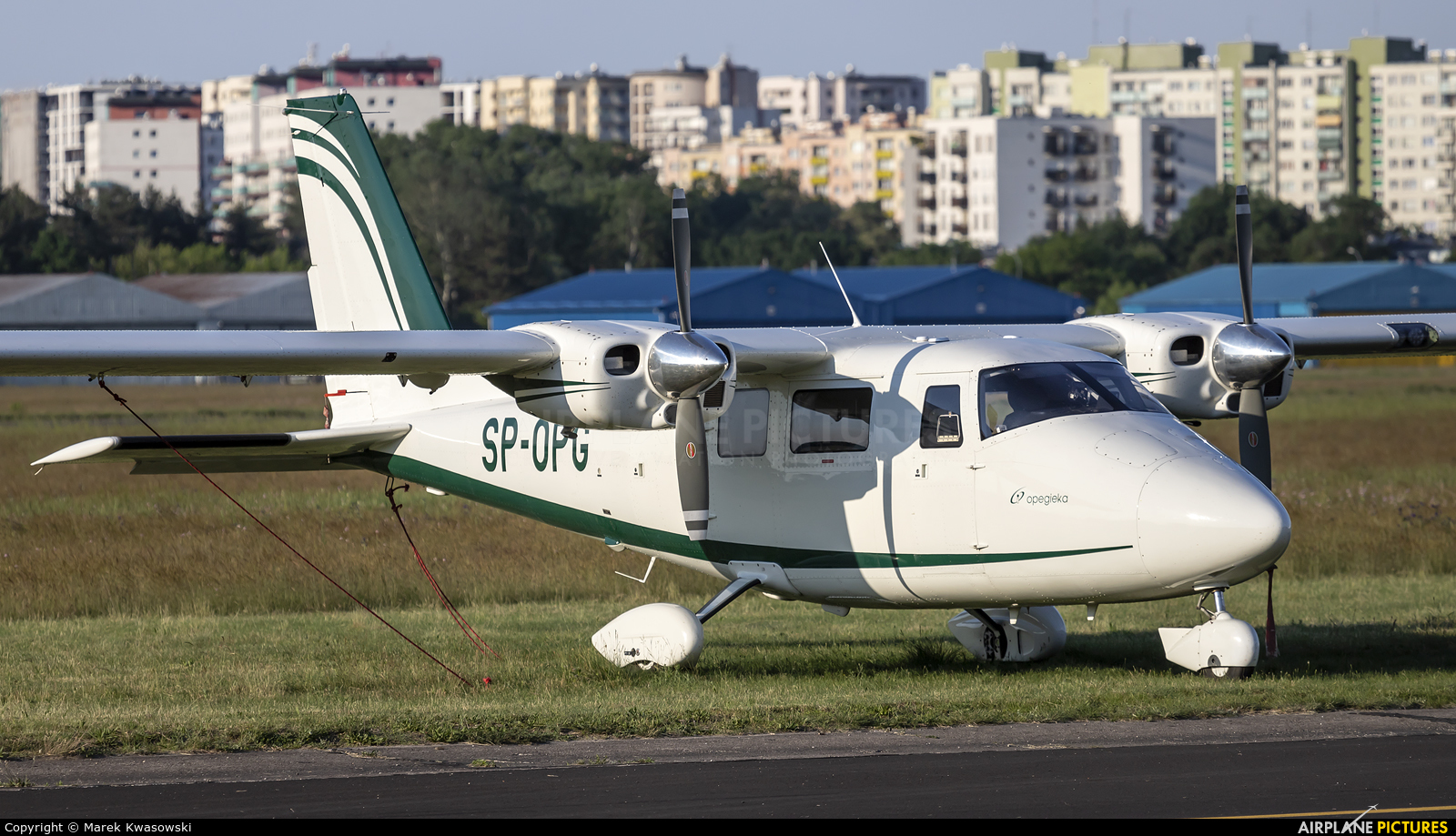 Private SP-OPG aircraft at Warsaw - Babice