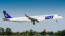 SP-LNG - LOT - Polish Airlines Embraer ERJ-195 (190-200) aircraft