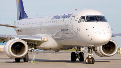 D-AECI - Lufthansa Regional - CityLine Embraer 170-200 STD