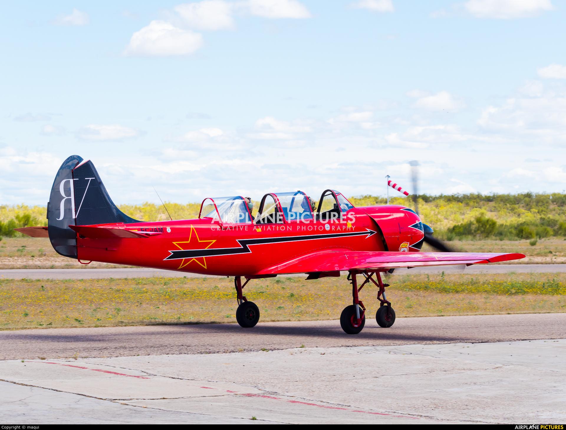 """Asociación Deportiva """"Jacob 52"""" EC-IAM aircraft at Casarrubios del Monte"""