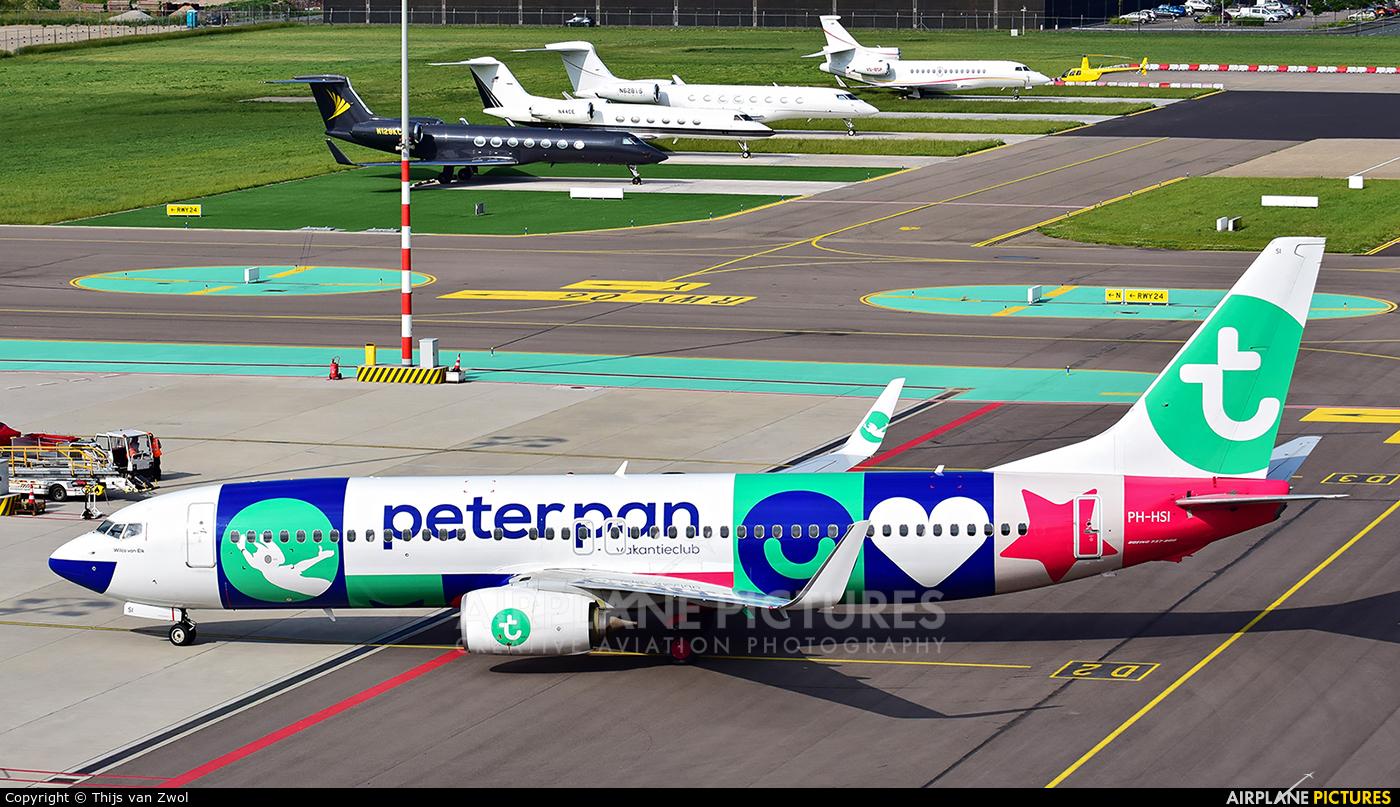 Transavia PH-HSI aircraft at Rotterdam