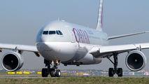 A7-AEF - Qatar Airways Airbus A330-300 aircraft