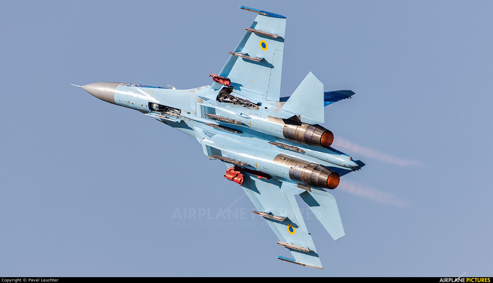 Ukraine - Air Force 58 aircraft at Fairford