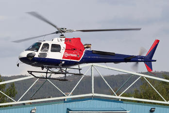 LN-OFM - Helitrans Eurocopter AS350 Ecureuil / Squirrel