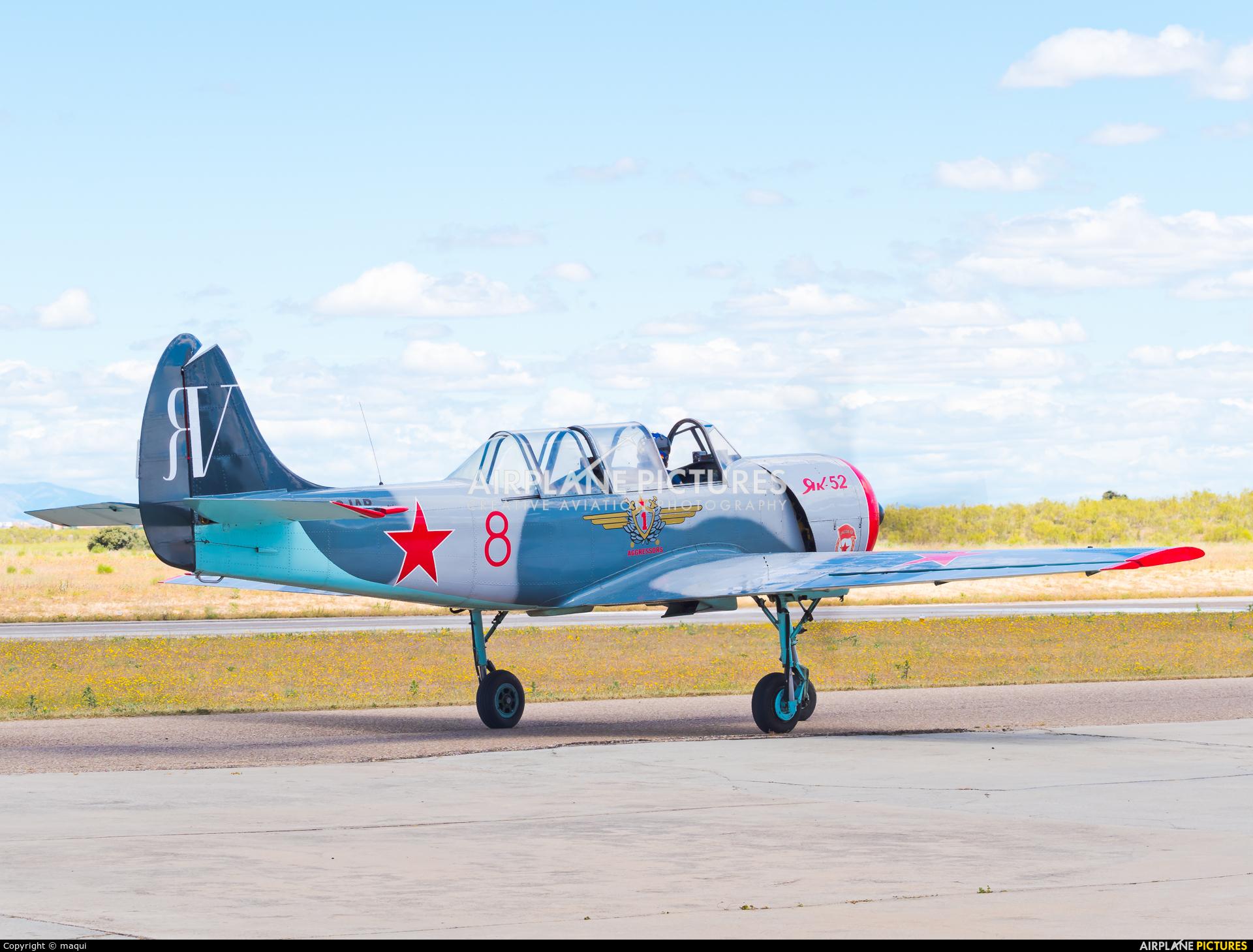 """Asociación Deportiva """"Jacob 52"""" EC-IAR aircraft at Casarrubios del Monte"""