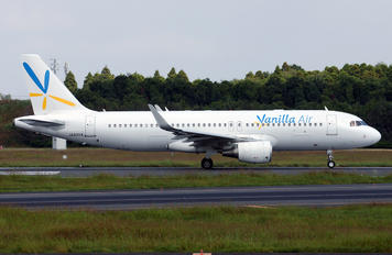 JA02VA - Vanilla Air Airbus A320
