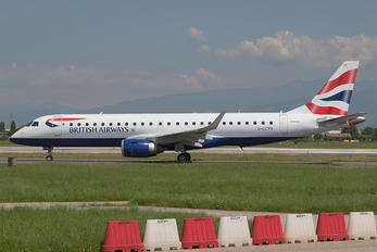 G-LCYV - British Airways - City Flyer Embraer ERJ-190 (190-100)