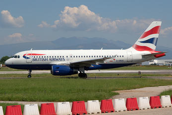 G-DBCK - British Airways Airbus A319