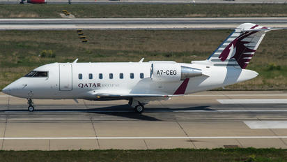 A7-CEG - Qatar Executive Canadair CL-600 Challenger 605
