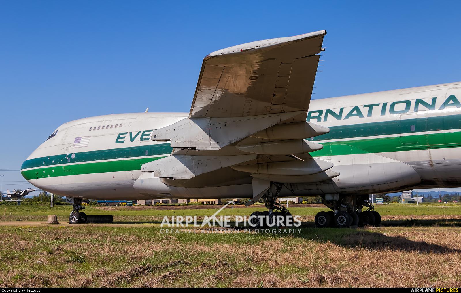 Evergreen International N482EV aircraft at McMinnville - Evergreen Aviation & Space Museum