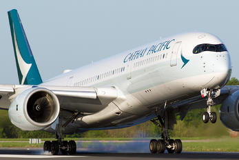B-LRR - Cathay Pacific Airbus A350-900
