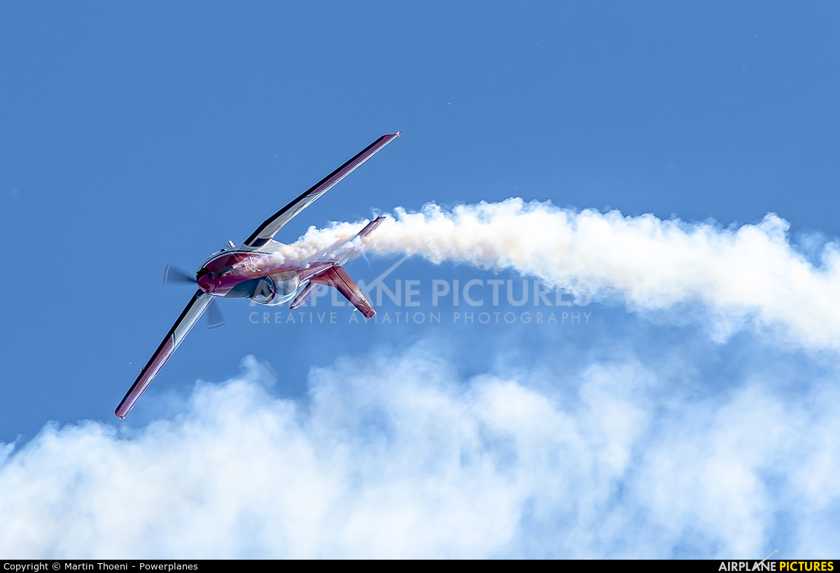 Switzerland - Air Force: PC-7 Team A-916 aircraft at Grenchen