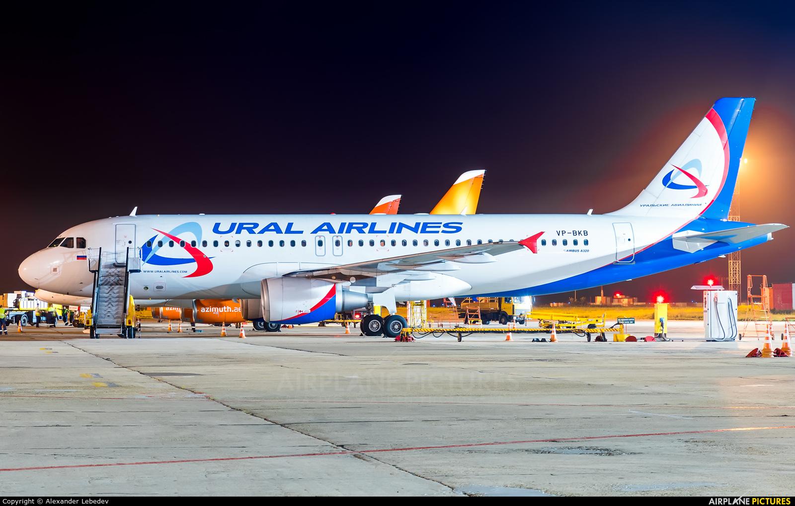 Ural Airlines VP-BKB aircraft at Krasnodar
