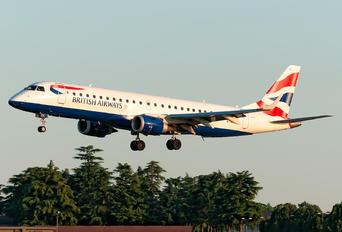 G-LCYL - British Airways - City Flyer Embraer ERJ-190 (190-100)
