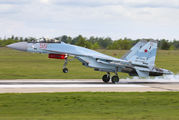 RF-81744 - Russia - Air Force Sukhoi Su-35S aircraft