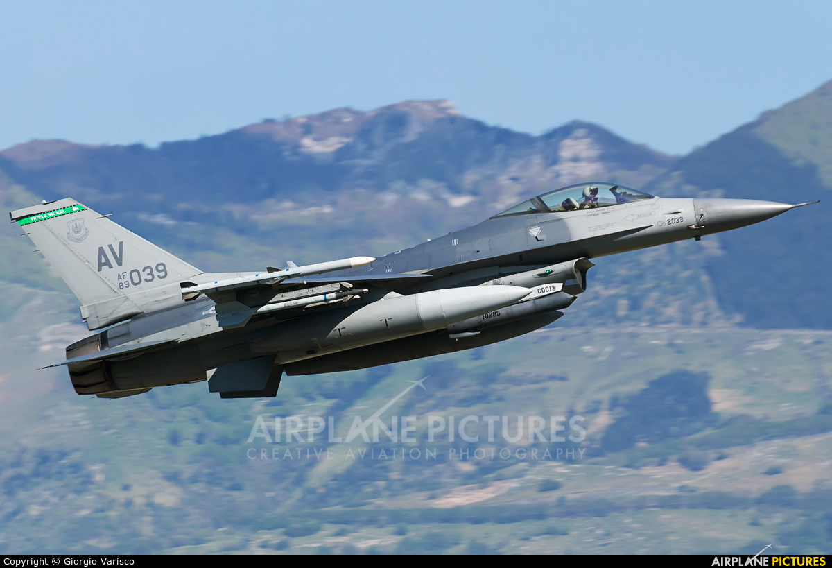 USA - Air Force 89-2039 aircraft at Aviano