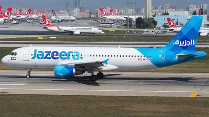 9K-CAN - Jazeera Airways Airbus A320