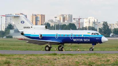 UR-MSX - Motor Sich Yakovlev Yak-40
