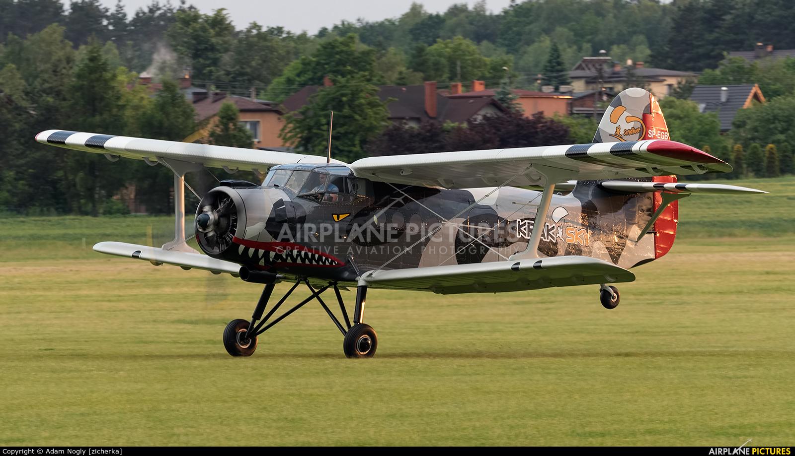 Aeroklub Krakowski SP-EGB aircraft at Rybnik - Gotartowice