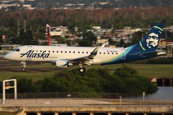 N649QX - Alaska Airlines - Horizon Air Embraer ERJ-175 (170-200)
