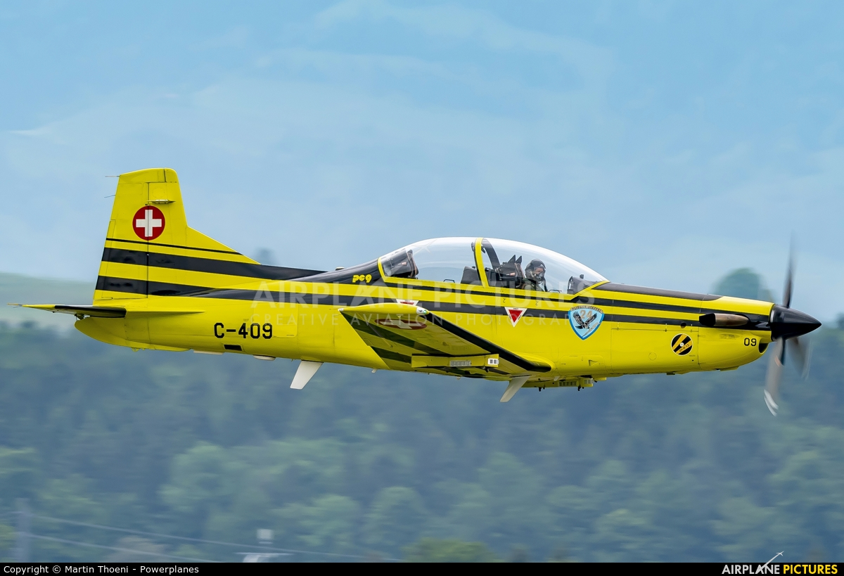 Switzerland - Air Force C-409 aircraft at Emmen