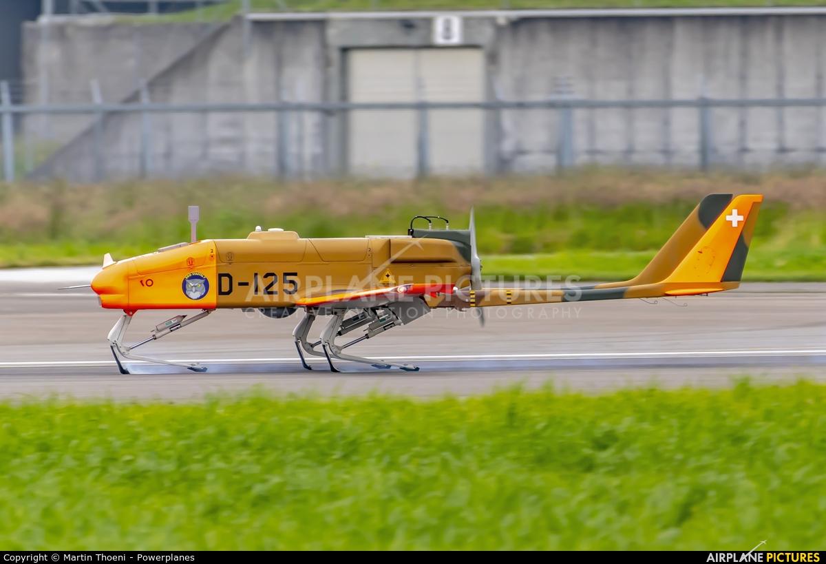 Switzerland - Air Force D-125 aircraft at Emmen