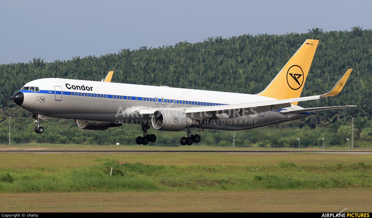 Condor D-ABUM aircraft at Kuala Lumpur Intl