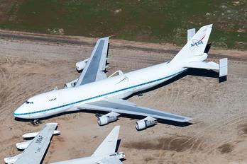 N911NA - NASA Boeing 747-100