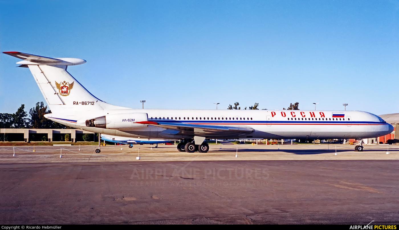 Rossiya RA-86712 aircraft at Brasília - Presidente Juscelino Kubitschek Intl