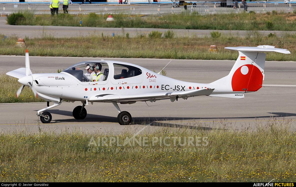 Aerolink EC-JSX aircraft at Igualada - Odena
