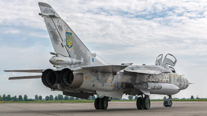 44 - Ukraine - Air Force Sukhoi Su-24M