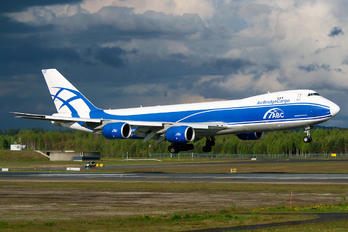 VQ-BGZ - Air Bridge Cargo Boeing 747-8F