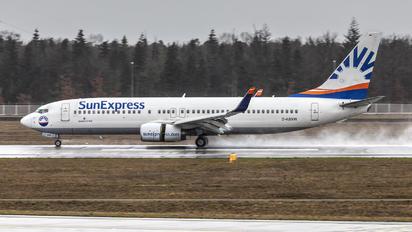 D-ASXW - SunExpress Boeing 737-800