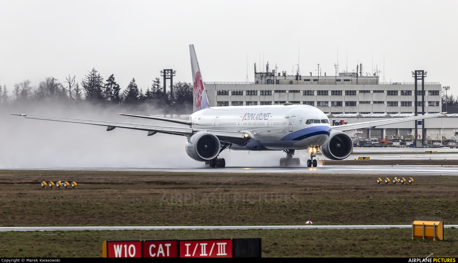 China Airlines B-18055 aircraft at Frankfurt