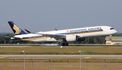 9V-SHD - Singapore Airlines Airbus A350-900