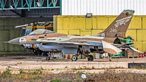 246 - Israel - Defence Force General Dynamics F-16A Netz aircraft