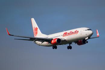 9M-LNW - Malindo Air Boeing 737-8GP