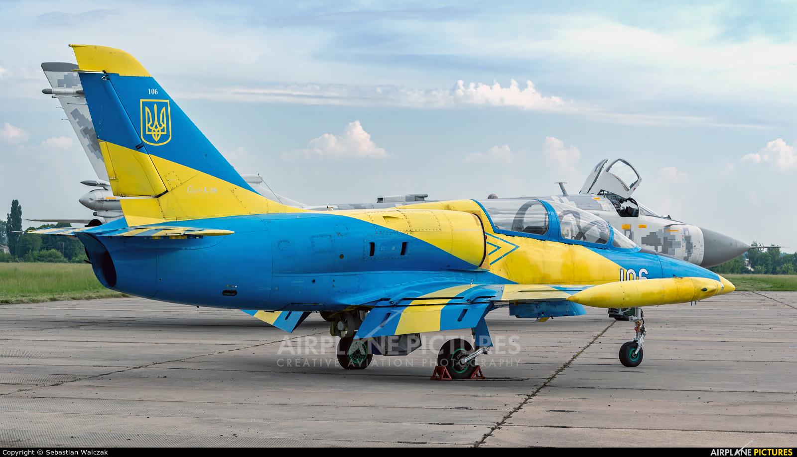 Ukraine - Air Force 106 aircraft at Starokostyantyniv